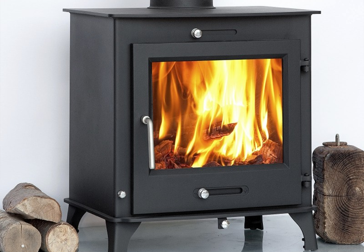 Ecosy Ottawa 12kw Wood Burning Multi-Fuel Stove