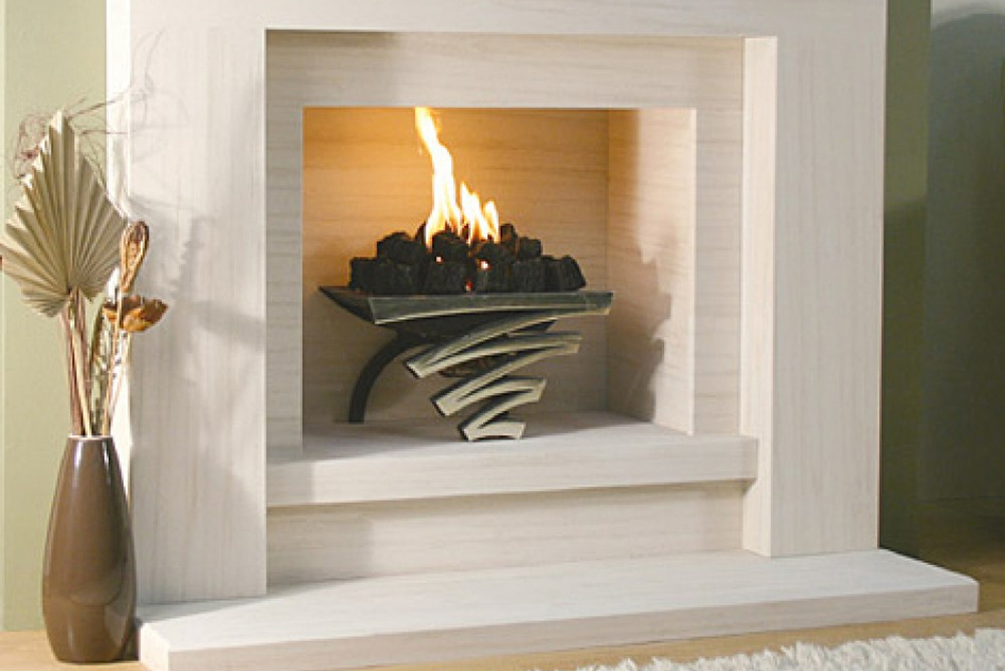 Solid Fuel Fire Baskets compliment any made to measure fireplace