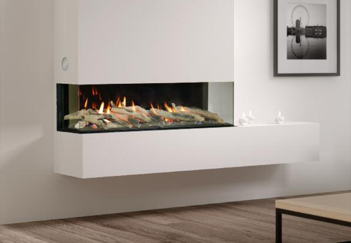 Infinity 890PC integrated Gas Fire