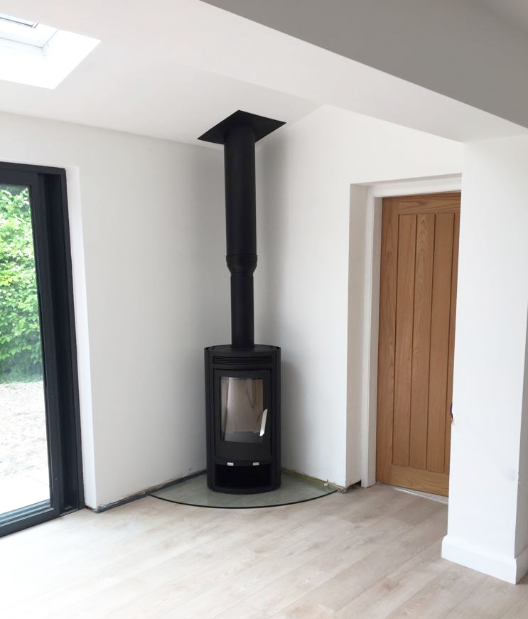 No Chimney No Problem Wood Burning Stoves Electric