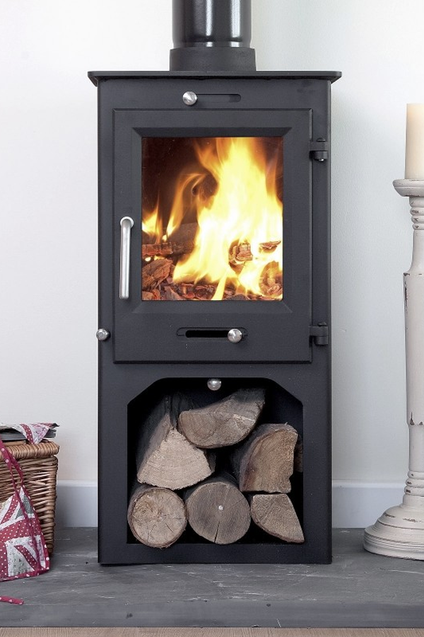 Ecosy Ottawa 5kw Woodburning Stove with stand