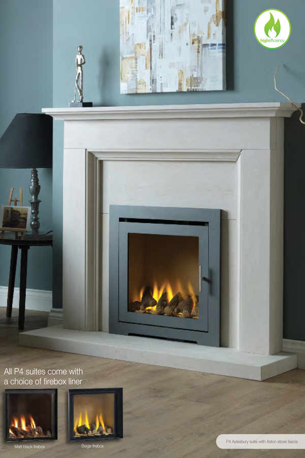Paragon P4 High Efficiency Gas Fire