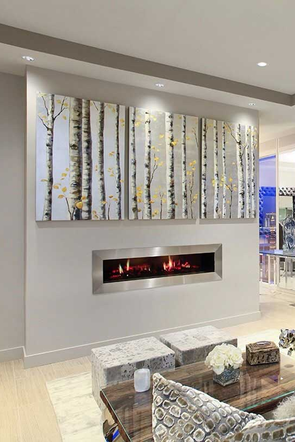 Dimplex PGF20 Opti-V Elecric Wall Mounted Fire