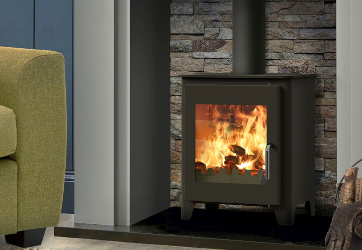 Saltfire ST1 Vision 5kw Woodburning Stove